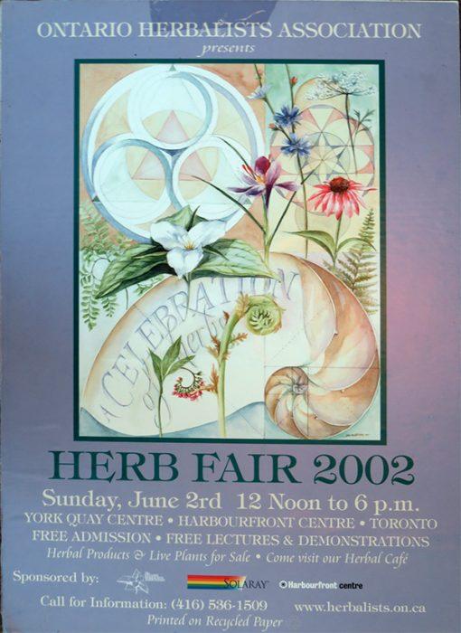 2002 Herb Fair Poster