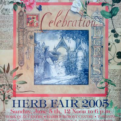 2005 Herb Fair Poster