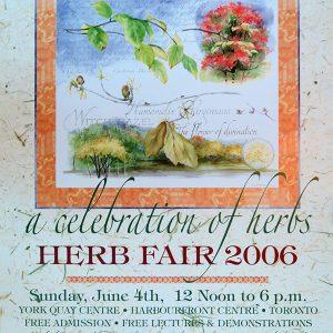 2006 Herb Fair Poster