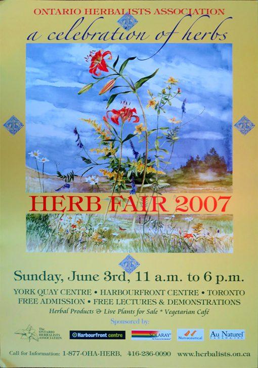 2007 Herb Fair Poster
