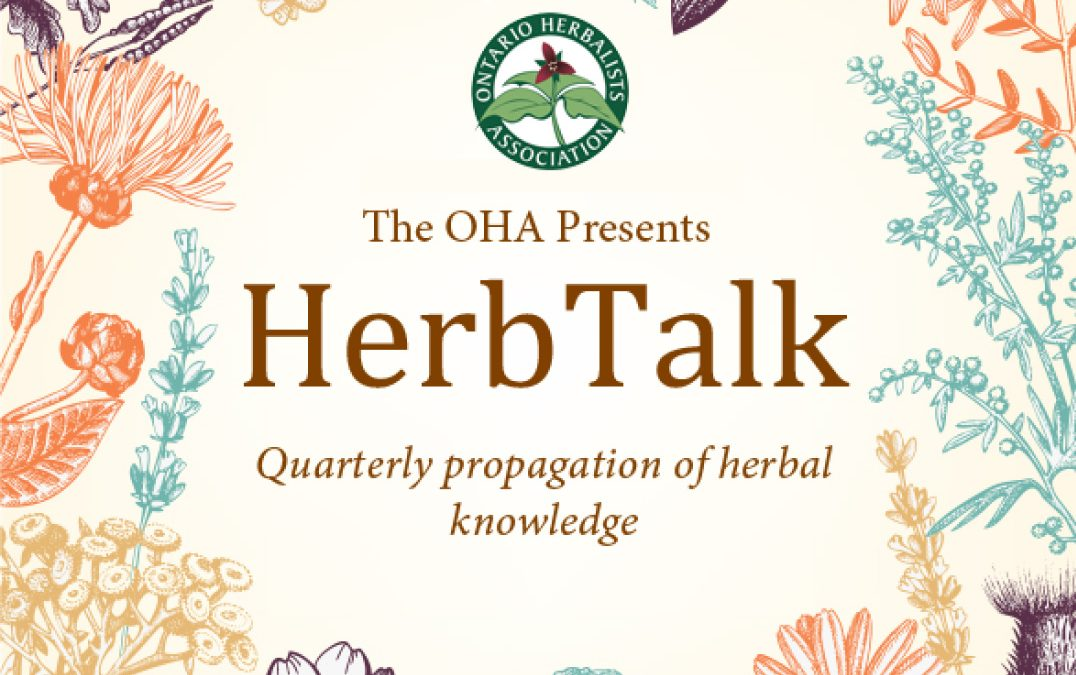 Herb Talk – Monika Ghent – Nov 30, 2020